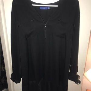 Women's Apt 9 zip front blouse XXL